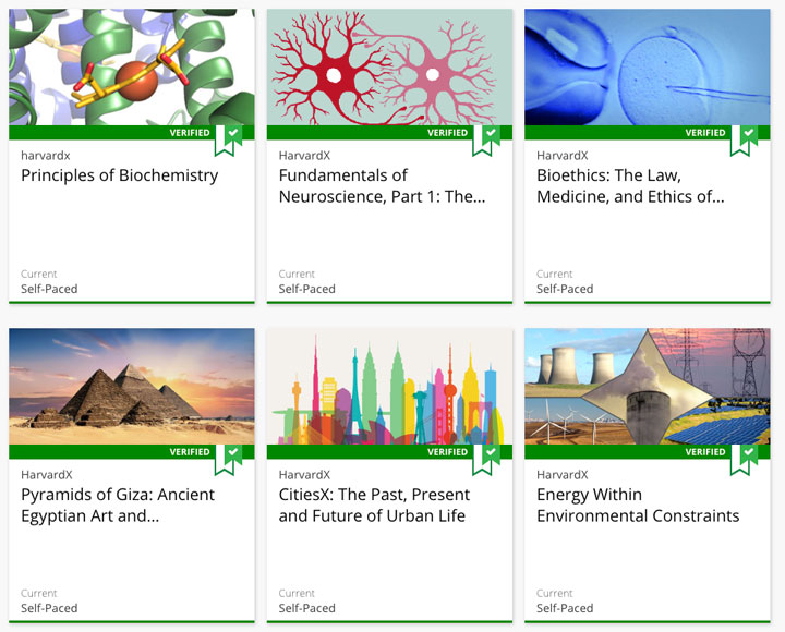 Free Online Content from Harvard Faculty on edX to Enrich