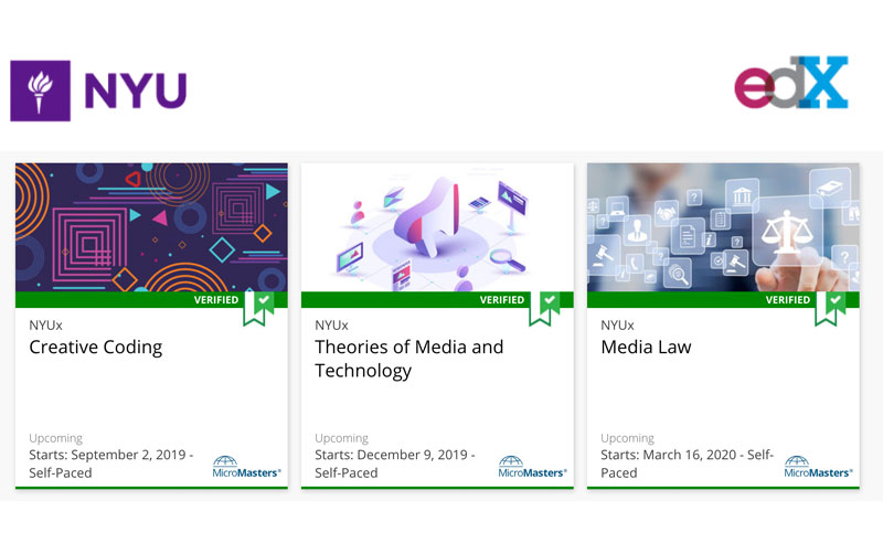 NYU Engineering Offers a MicroMasters in Integrated Media on edX
