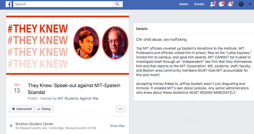 MIT President Says He And Senior Staff Signed Off On Epstein Gifts