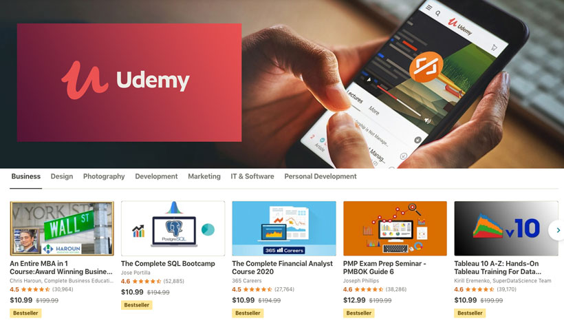 Udemy Claims a Valuation of $2 Billion and Announces 5,000 ...