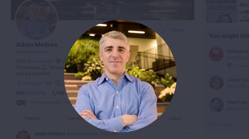Adam Medros Hojas edX; Anant Agarwal permanece como CEO único