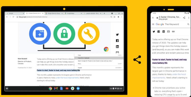 Google lanza nuevas funciones para Chrome