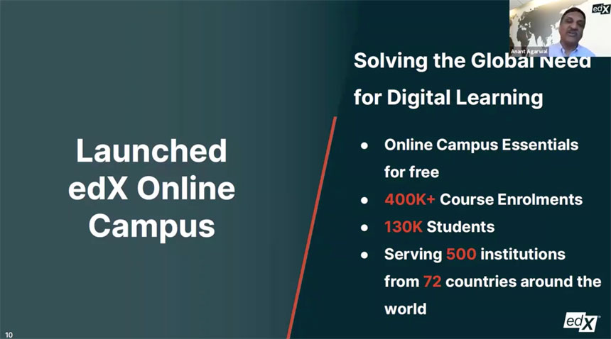EdX amplía su catálogo gratuito de 100 cursos seleccionados para universidades hasta junio de 2021