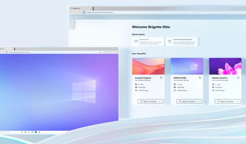 Microsoft lanza Windows 365, una nueva categoría denominada PC en la nube