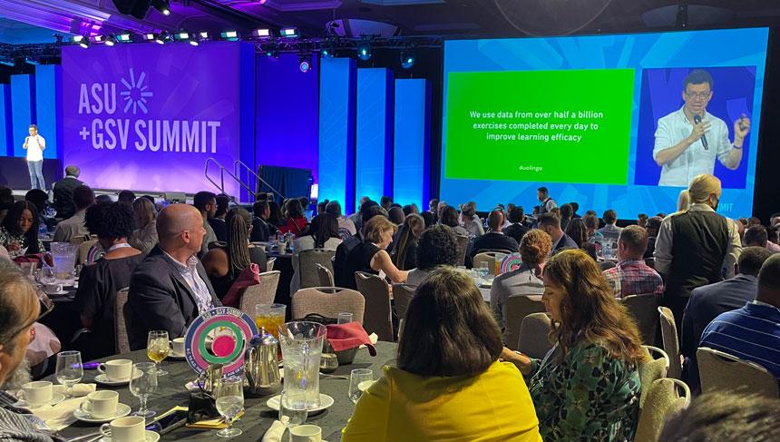 La Cumbre ASU + GSV atrae a miles de asistentes en San Diego